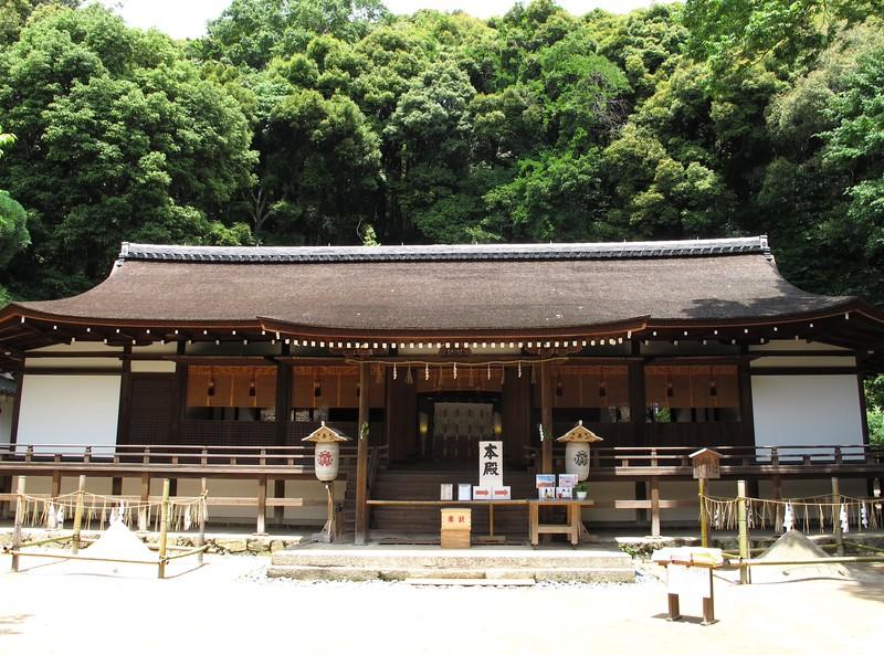 The Haiden of Ujigami-jinja