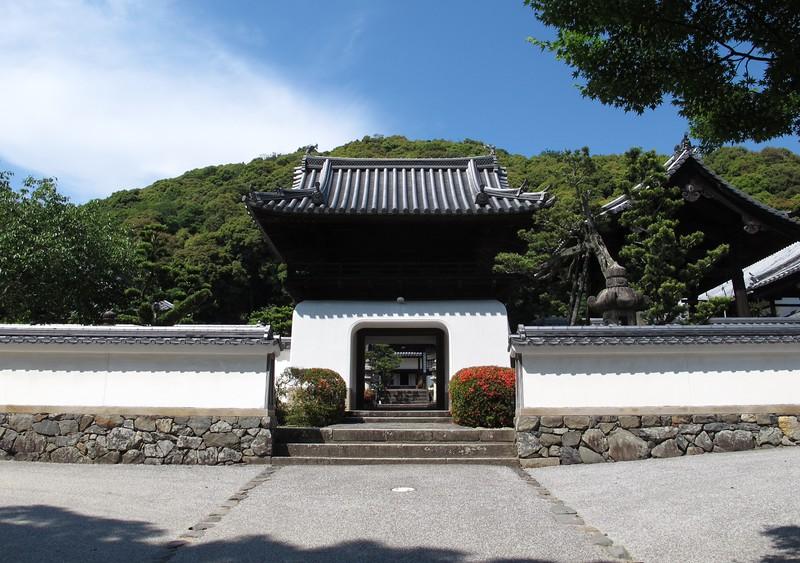 Kosho-ji's Chinese style gate