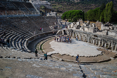 2014, Turkey, Ephesus, Theater Ephesus