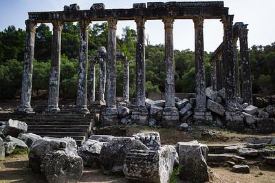 2014, Turkey, Euromos, Temple of Zeus