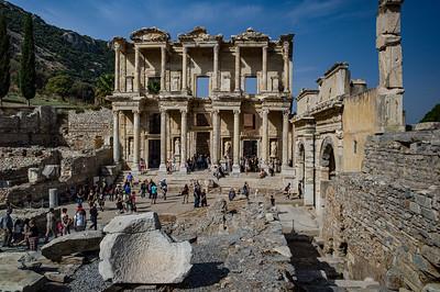 2014, Turkey, Ephesus, Library of Celsus