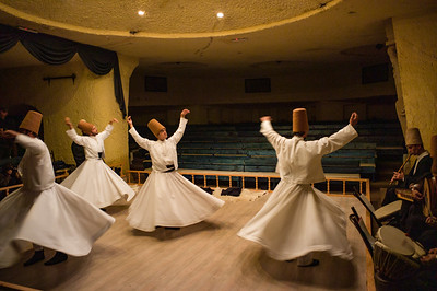 2014, Turkey, Cappadocia, Mevlevi Sema Ceremony (Whirling Dervishes)
