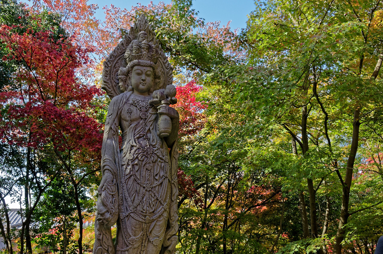Eleven-faced Kannon, goddess of mercy and compassion
