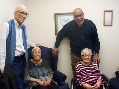 Alphonza Harris, age 85, Rosa Bell Harris Watkins, age 94, Magnora Harris Davis,age 97, & Latheian Harris, age 79,