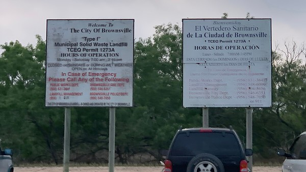 Welcome to the Brownsville Landfill