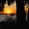 Stanley Park sunset in Vancouver, Canada - a color image
