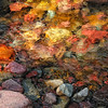 Glacier National ParkColorful rocks of Twin Falls in the Two Medicine area of Glacier National Park - a color image