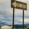 One Way on a Foggy Mountain Raod