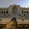 Interior of the Memorial Ampitheater in Arlington National Cemetery - a color image