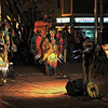 Street musicians performing on Las Canteras beach in Gran Canaria, Canary Islands – a color image