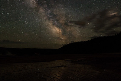 Milky Way 2 AM, Yellowstone National Park
