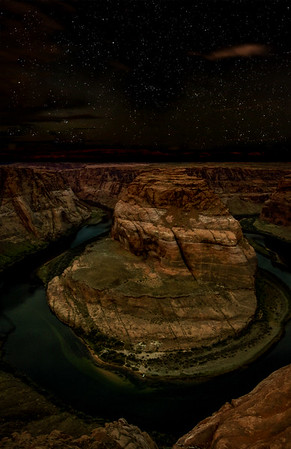 Horseshoe Bend, Night