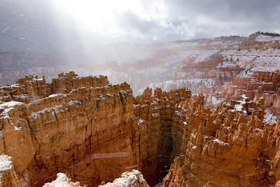 Snowstorm Bryce Canyon National Park