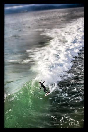Surfing trail.