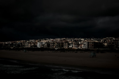 Manhattan Beach, Night. This is a new series I am working on.