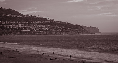 View of PV from Torrance Beach