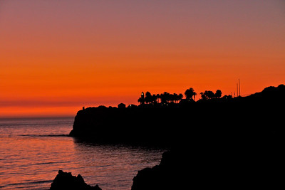 Palos Verdes Red Sunset