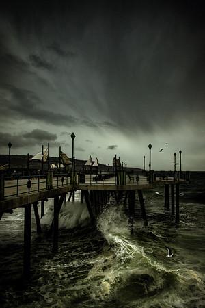 Redondo Beach Pier, January 20, 2017.