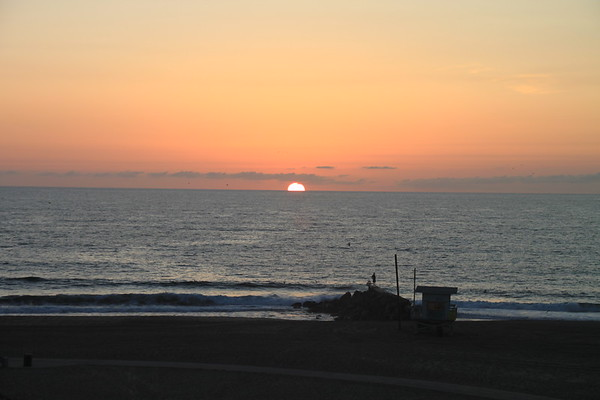 Playa Del Rey Lifeguard Tower, Playa Del Rey, CA