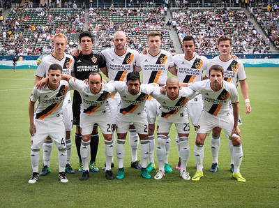 LA Galaxy Starting Line Up v. Dallas FC 10/23/16 at the Stub Hub Center