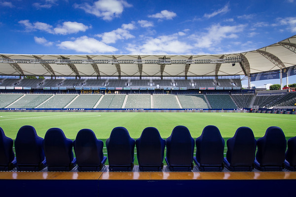 Los Angeles Galaxy, MLS, Professional Soccer, Stub Hub Center, Blue Sky, Pro Sports