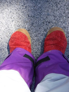 Also, forgot my river shoes but thankfully I had remembered my house slippers for a relaxing weekend.