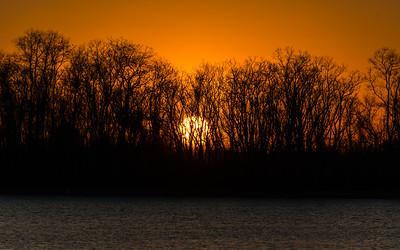 2016-02-17 Sunset at Nobel Lake 1031 -1