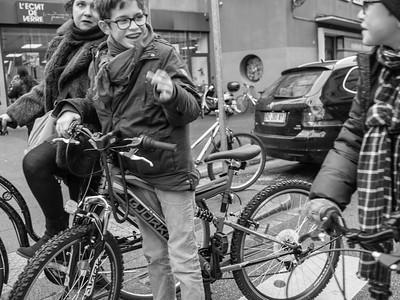 Vélo trio