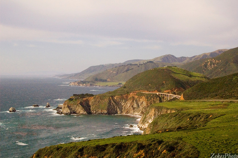 Big Sur, looking north while heading south.