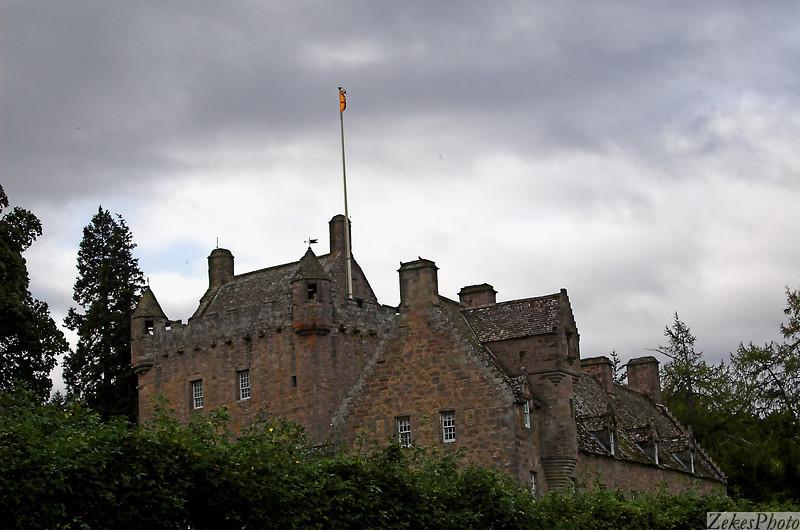 Castle Cawdor on a fall morning.
