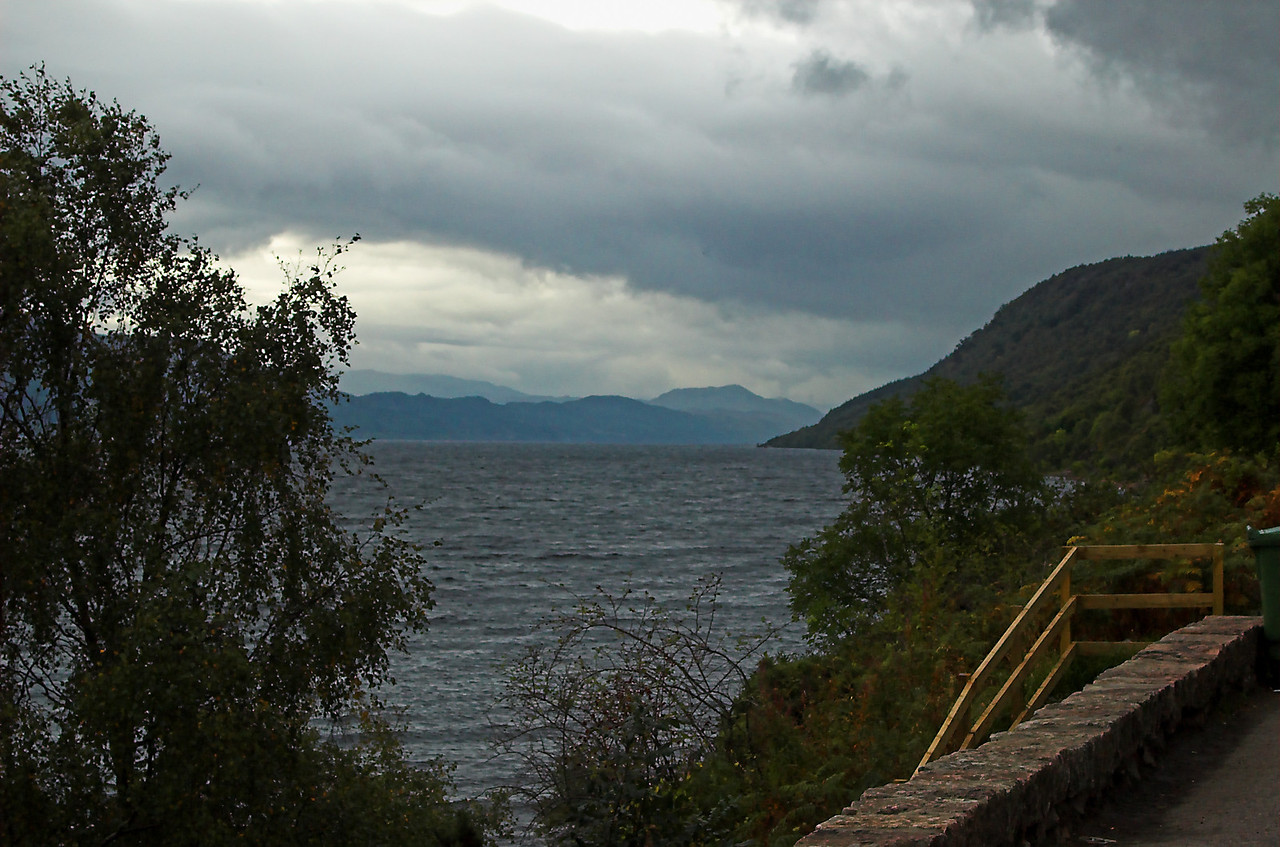 Loch Ness.  Of legends and stories, of wind and water so chilly that it will pucker even the most stout.