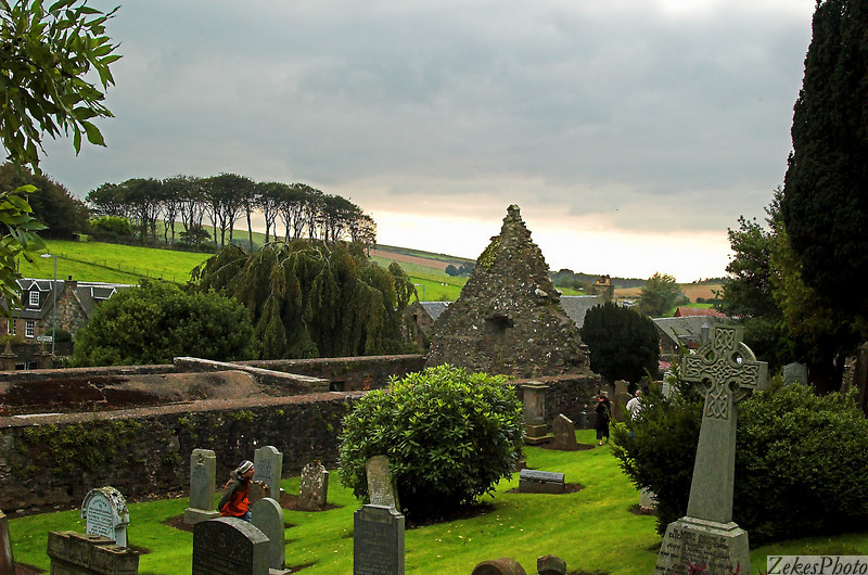 Kierkegaard cemetery with view to the Irish Isles.