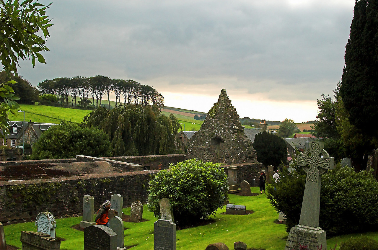 Kierkegaard cemetery with view to the Irish Isles.