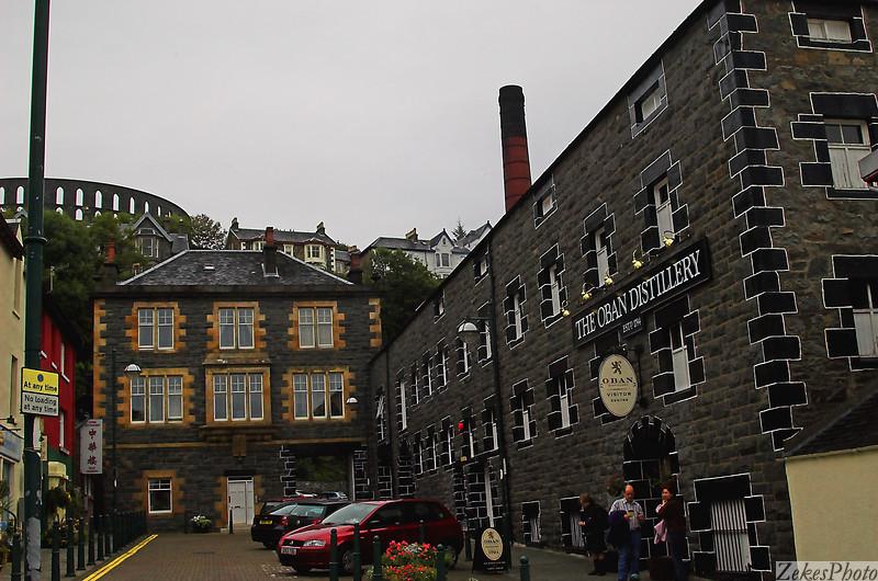 Oban distillery.