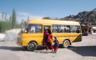 Now, the young nun studies in an English medium school, which is a dream for many girls in Zanskar and other remote parts of Ladakh where the weather is harsh and cold. Often, families don't have enough food even to feed the children.