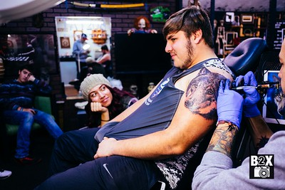Dante Gonzales Skyline Grizzlies Tattoo