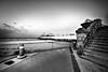 Daytona Pier 392 bw