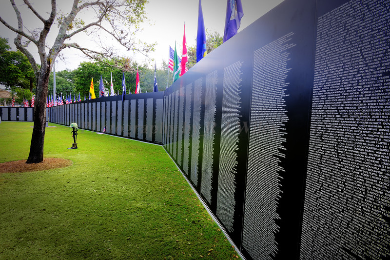 Vietnam memorial wall 9245