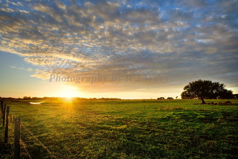 Ranch sunrise 9976