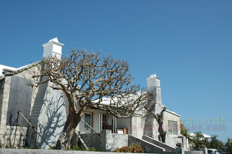 Old Bermuda home, Somerset, Bermuda.