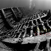 The wreck of the Ghiannis D. Red Sea. 2007. A collection of 3 streched canvases. 13.8 X 20 - 28 X 20 - 13.8 X 20 inches<br /> $1100.00 unstreched set