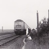 Obviuosly a warm day as my Great Uncle basks next to the down slow as 1777 passes Counthorpe August '71