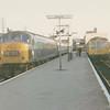 Peak 139 departs Peterborough North in September '70