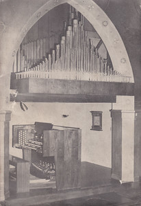 Organ console of the McManis Organ, 1962-2002