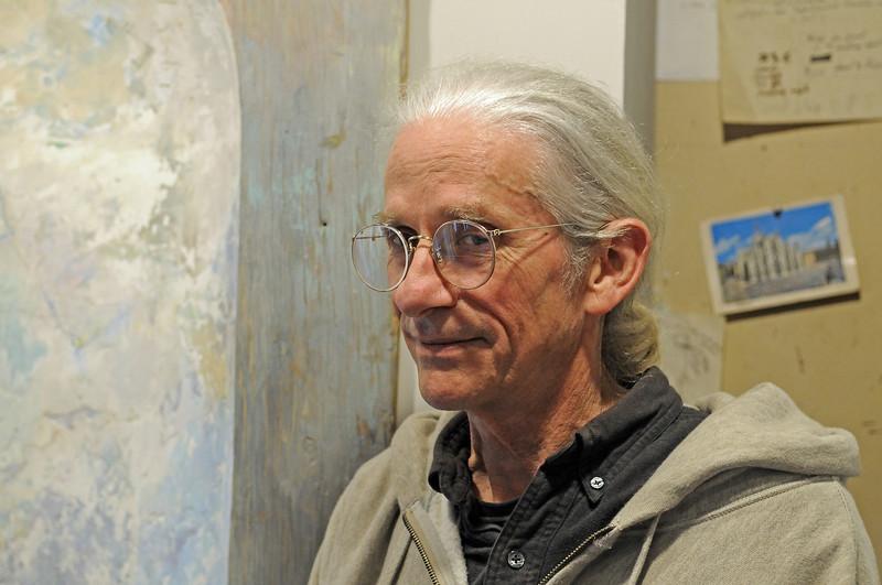 Gene Cauthen, sculptor <br /> Photo (c) Liane Brandon