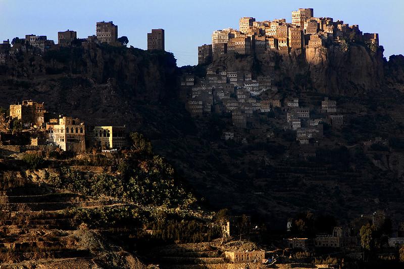 View of al-Hajjarah from Manakha.