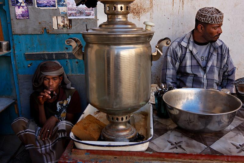 Tea stall.
