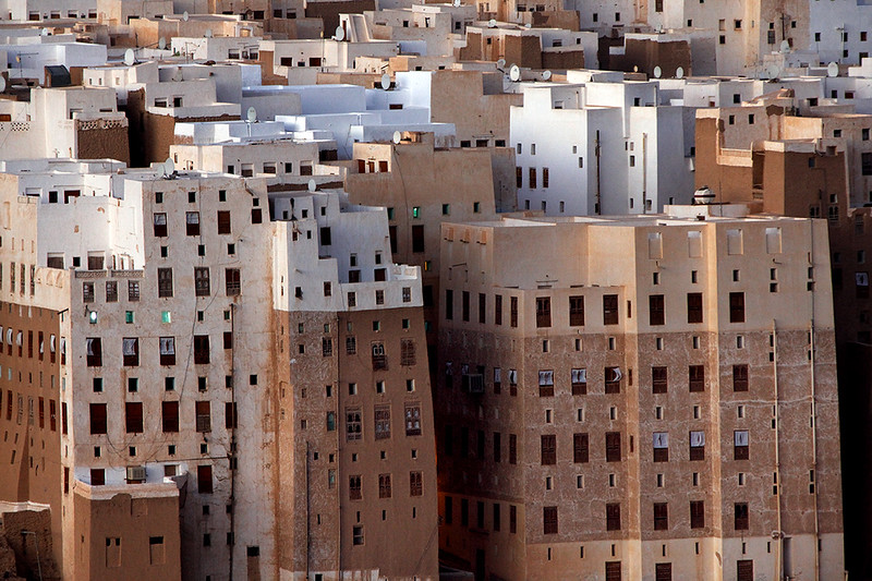 Skyscrapers in Shibam.
