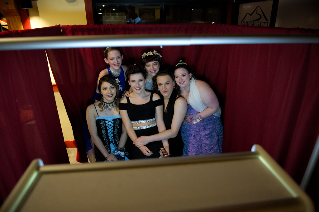 . The prom for Fitchburg High School and Goodrich Academy was held for students Saturday night at the Wachusett Mountain Ski Lodge.  SENTINEL & ENTERPRISE/JEFF PORTER