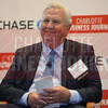Johnny Harris, CEO of Lincoln Harris, participates in a panel discussion at CBJ's PGA Championship Event on Wednesday.